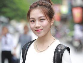 Những nữ sinh xinh đẹp ngày thi tuyển ĐH Sân khấu - Điện ảnh Hà Nội 2017