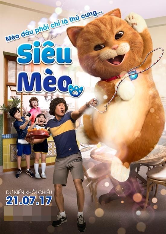 Phim tình cảm gia đình siêu mèo ra mắt -1
