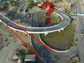 Bức ảnh gây tranh cãi nhất: Cây cầu vượt 'ngáo' nhất thế giới hay xây dựng có tính toán?
