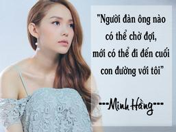 Minh Hằng: 'Bạn trai vẫn rất yêu dù biết tôi vướng tin đồn cặp đại gia'