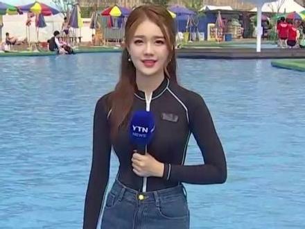 Chỉ là phát thanh viên nhưng cô gái này còn hấp dẫn hơn nhiều đại mỹ nhân xứ Hàn