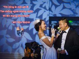 Nữ MC tuyển chồng qua mạng Quỳnh Scarlet: 'Hãy chỉ cưới nếu tìm được đúng người'