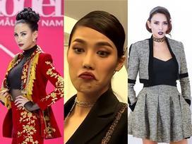Soán ngôi Lan Khuê, Võ Hoàng Yến trở thành 'nữ hoàng môi thâm'