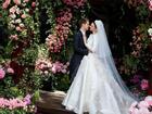Miranda Kerr lộng lẫy kiêu sa giữa vườn hoa hồng trong loạt ảnh cưới đẹp lung linh