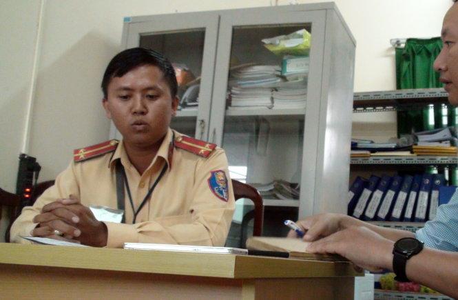 Trung úy lên tiếng sau vụ clip được đăng tải trên mạng