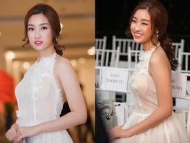 Bức ảnh hot nhất trong ngày: Hoa hậu Đỗ Mỹ Linh lộ rõ lớp áo ngực kém duyên