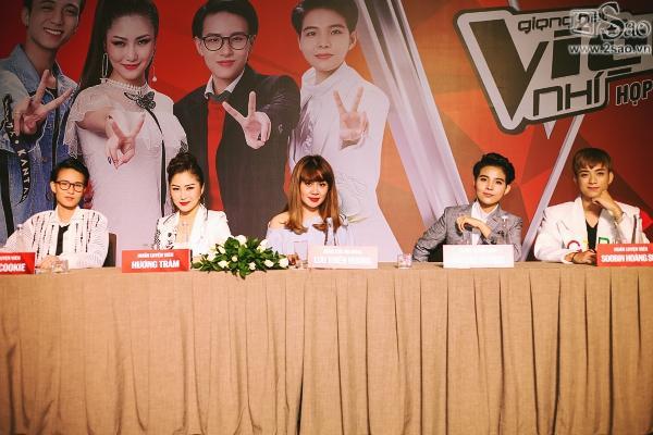 The Voice Kids: Hương Tràm, Soobin khoe tài hát dân ca -1