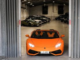 Thuê xe siêu sang - dịch vụ cho nhà giàu