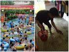 Những hành động 'bá đạo' của sinh viên ngày mưa bão