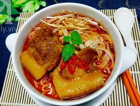 Công thức chuẩn để nấu món mì Quảng thịt heo đậm ngon