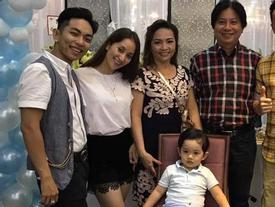 Con trai Khánh Thi và Phan Hiển đón tuổi mới trong sự ấm áp của ông bà nội