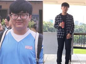 Chàng mập lột xác thành hot boy sau khi đánh bay 20kg mỡ dù vẫn ăn cơm, thịt, cá đầy đủ