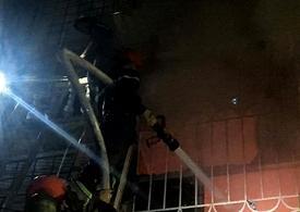 Cháy lớn trong đêm ở Hà Nội khiến hai người tử vong