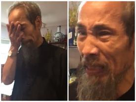 Nghệ sĩ Chu Hùng khóc như đứa trẻ khi kể lại cuộc sống 5 năm không điện, nước