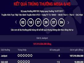 Xổ số Vietlott lại gây 'sốt' với jackpot 107 tỉ chưa chịu 'nổ'