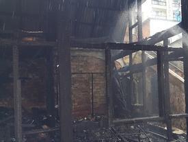 Cháy dữ dội tại trung tâm Đà Lạt, cụ ông 93 tuổi thiệt mạng