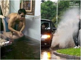 Clip hài: Những tuyệt chiêu 'mưu hèn kế bẩn' cho mùa mưa