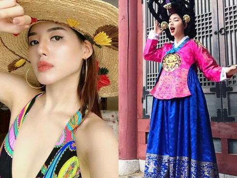 Hot girl - hoy boy Việt 20/7: Khánh Linh khoe vừa sửa sang lại góc con người