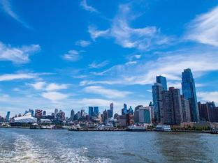 Ngắm New York trong chuyến du ngoạn trên sông Hudson