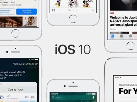 Bản iOS 10 cuối cùng phát hành trước khi đón iOS 11