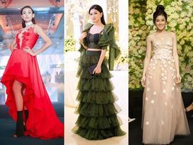 Á hậu Huyền My cực kỳ gợi cảm 'soán ngôi' dàn mỹ nhân Việt trên thảm đỏ tuần này