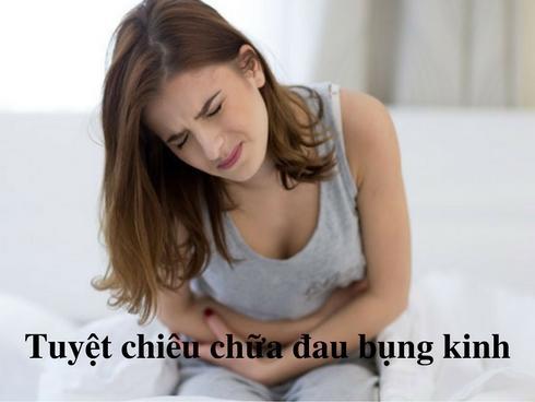 Bật mí: Tuyệt chiêu trị đau bụng kinh