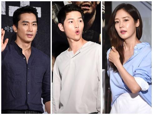 Vắng Song Hye Kyo, buổi ra mắt phim của Song Joong Ki vẫn quy tụ dàn sao 'khủng'