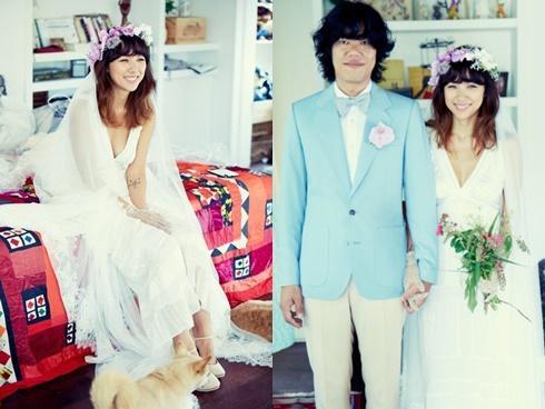 Không ngờ giàu như Lee Hyori mà chỉ mặc váy cưới vỏn vẹn 2 triệu đồng