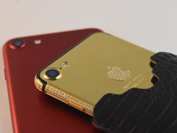 Tại thành phố xa hoa Dubai, iPhone cũng phải sang chảnh