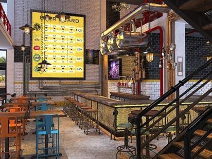 Nhậu Zô- sàn bia 'chứng khoán' đầu tiên ở Đà Nẵng