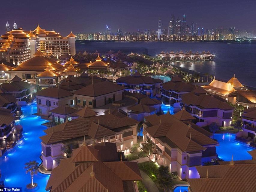 Resort lộng lẫy ở Dubai kết hợp kiến trúc châu Á
