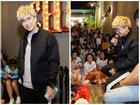 Hàng trăm khán giả hâm mộ bao vây Chi Dân trong buổi fan meeting