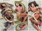 'Next Top Model' photoshop ẩu vì mải ghép trăn cho thí sinh?