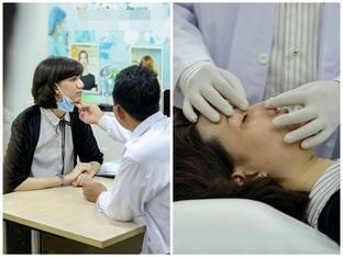 Sau cuộc ẩu đả nhà chung Next Top Model, Hồng Xuân #teamSang vẹo mũi phải đi viện