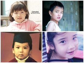 Quizz: Nhìn ảnh thời thơ ấu đoán tên sao Hàn, bạn làm được không?