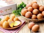 Trứng gà xông khói Hàn Quốc đắt xắt ra miếng được dân Việt lùng mua