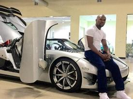 Võ sỹ triệu phú Floyd Mayweather rao bán siêu xe 'dệt kim cương' Koenigsegg CCXR Trevita