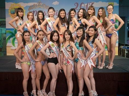 Choáng với nhan sắc của thí sinh Hoa hậu bikini