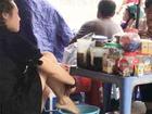 Người tung video 'lấy nước rửa chân pha trà' bị phạt 7,5 triệu đồng