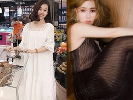 Hot girl - hot boy Việt 25/7: Ly Kute đẹp yêu kiều khi đi siêu thị mua sắm