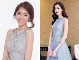 'Đụng hàng' với Hoa hậu Thu Thảo, Hari Won gây ngạc nhiên vì mặt quá... lạ
