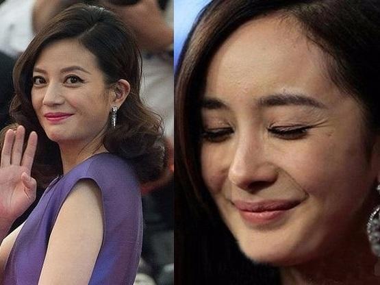 Những bức ảnh tiết lộ làn da thật xấu xí của các mỹ nhân Hoa ngữ