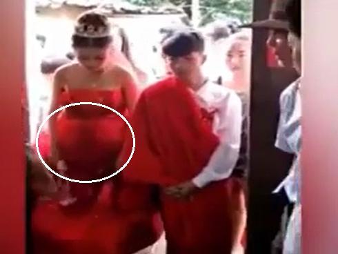 'Ăn cơm trước kẻng', cặp đôi 13 tuổi cưới chạy bụng bầu 5 tháng