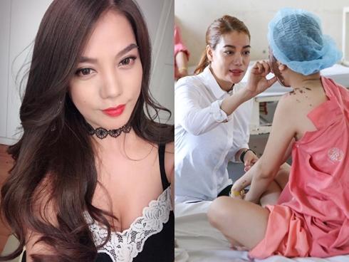 Trương Ngọc Ánh nổi giận khi bị cho là cố tình quên 300 triệu từ thiện nữ sinh bị tạt axit hỏng mắt