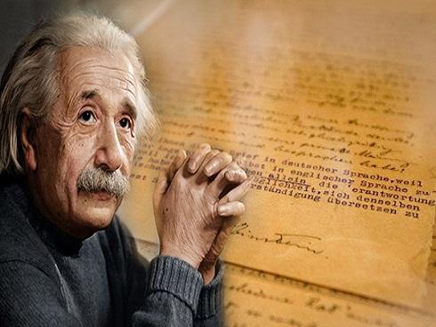 Bí mật gây sốc về bức thư thiên tài Einstein gửi con gái