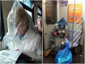 Bắt gặp hình ảnh 'quái gở' ở trên tàu điện ngầm (P2)