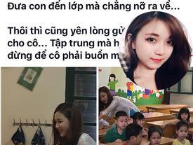 Cộng đồng mạng chao đảo với loạt ảnh xinh đẹp của cô gái dạy tiểu học ở quận Hoàng Mai
