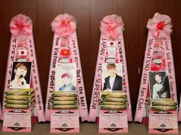 Những cách ủng hộ thần tượng độc đáo của fan Kpop