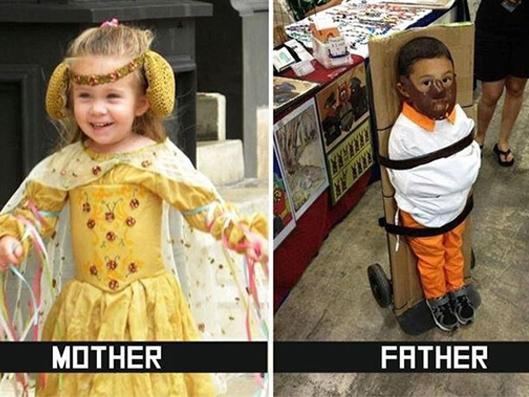 Khác biệt 'một trời một vực' giữa bố và mẹ khi ở cùng trẻ (P2)