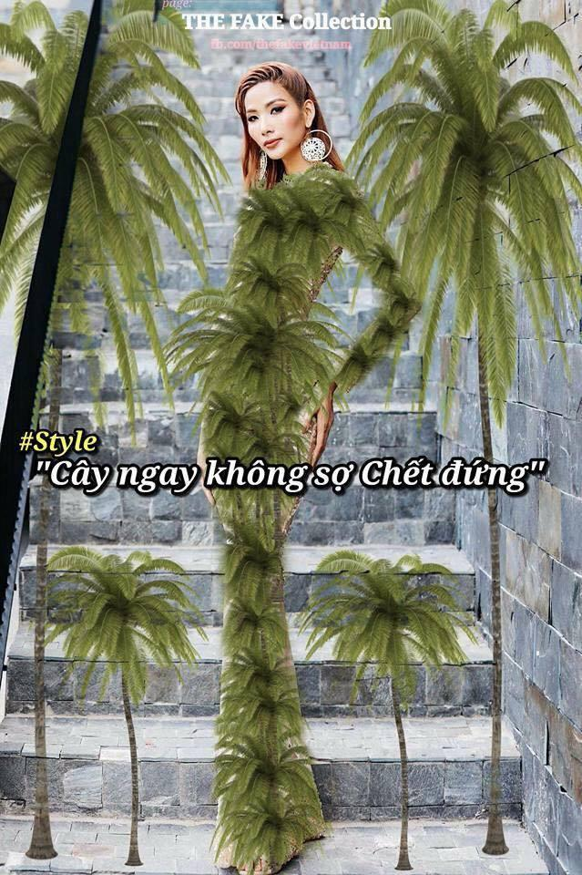 Dù bị ví là cây thông Noel, Hoàng Thùy vẫn được khen tới tấp nhờ mặc đẹp trong The Face tập 10-8